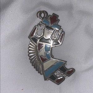 Vintage Metal Pendant